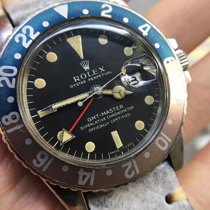 Rolex GMT Master Thick Case Matte Dial 1675 WhatsApp: +852-96991000 Email: info@thevintageconcept.com