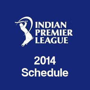 IPL 2014 Schedule #IPL2014 #Cricket #IPL #IPL7