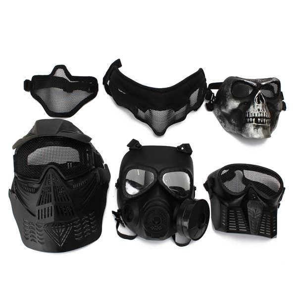Protective Safety Mask For Paintball Airsoft Game Motorcycle CS Military Shooting Tactical 6 Styles  Worldwide delivery. Original best quality product for 70% of it's real price. Buying this product is extra profitable, because we have good production source. 1 day products dispatch from...