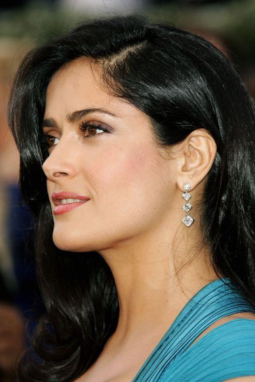 Salma Hayek - National Celebrity Profile | Examiner.com Arabic/Spanish decent