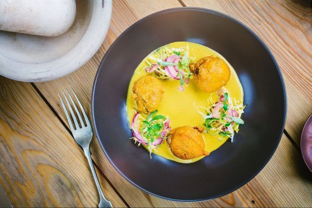 Hottest new London restaurants of August 2016 - including Indian tapas and a pancake parlour:  https://www.thedrinksbusiness.com/2016/08/hot-new-restaurant-openings-august/