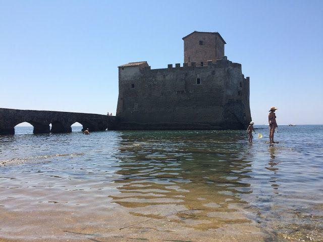 La spiaggia nascosta di Torre Astura