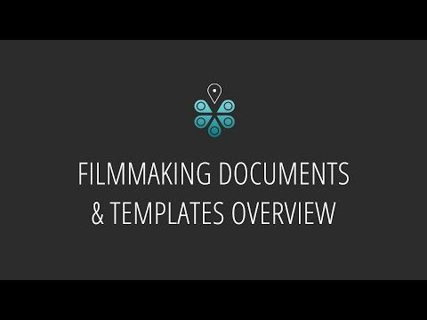 36 Best Filmmaking Production Document Templates Images On