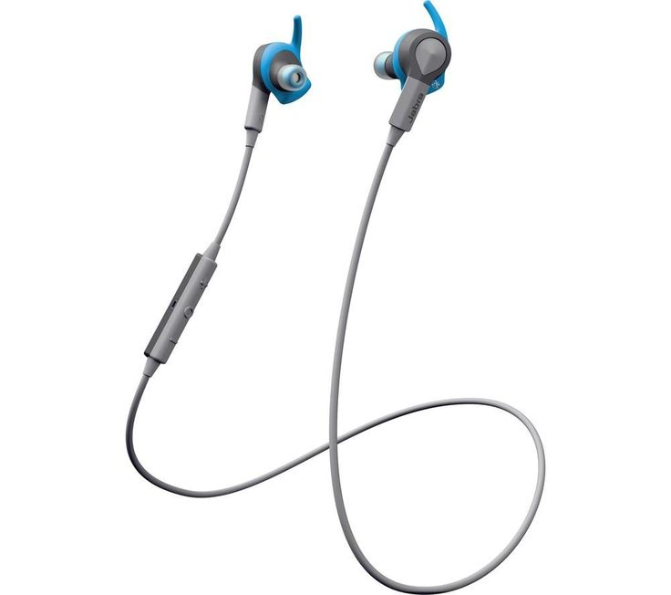 JABRA  Sport Coach Wireless Bluetooth Headphones - Blue, Blue Price: £ 99.99 Give your workout some real get up and go with the Jabra Sport Coach Wireless Bluetooth Headphones in sweat-resistant blue. Bluetooth connectivity Connect your compatible device to the headphones simply via Bluetooth - they're compatible with most smartphones, laptops and tablets. Easier than a personal trainer The...