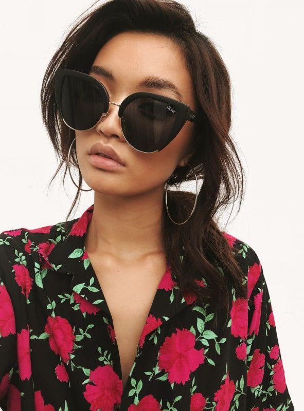 a076d2b799 Quay Australia Oh My Dayz Sunglasses Black Smoke