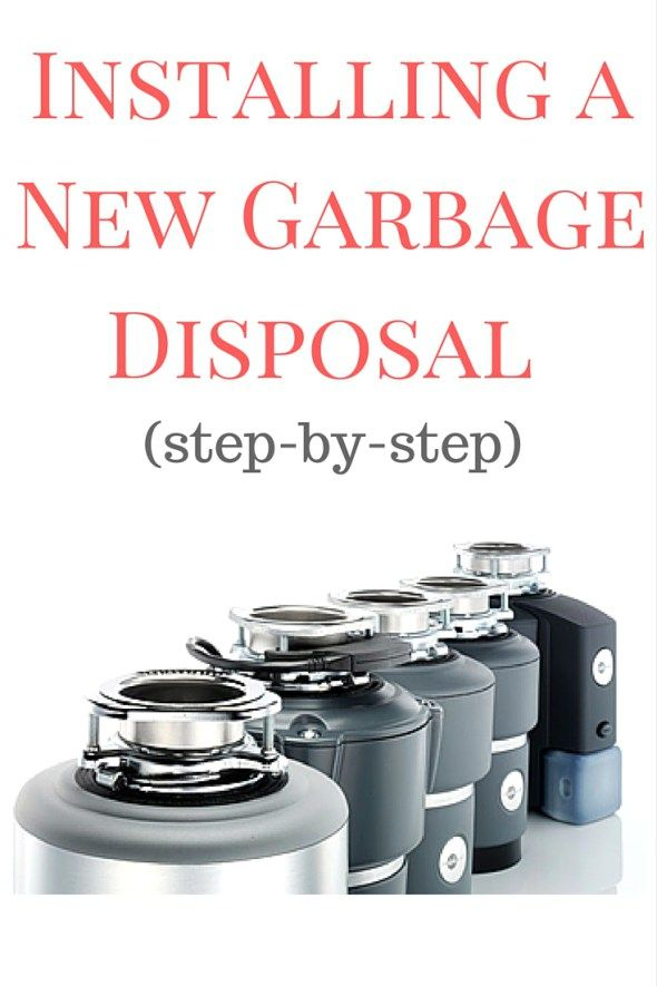 Installing A New Garbage Disposal