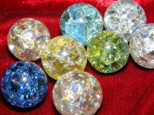 Clear Colored Marbles : Baked marbles recipe put your clear it s useless