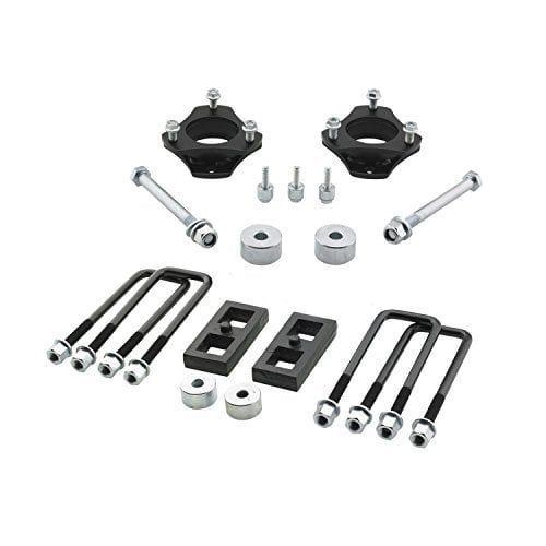 """Pro Comp 65205K 2.753.0"""" Front 1.0"""" Rear Suspension Lift Kit, Red rust"""