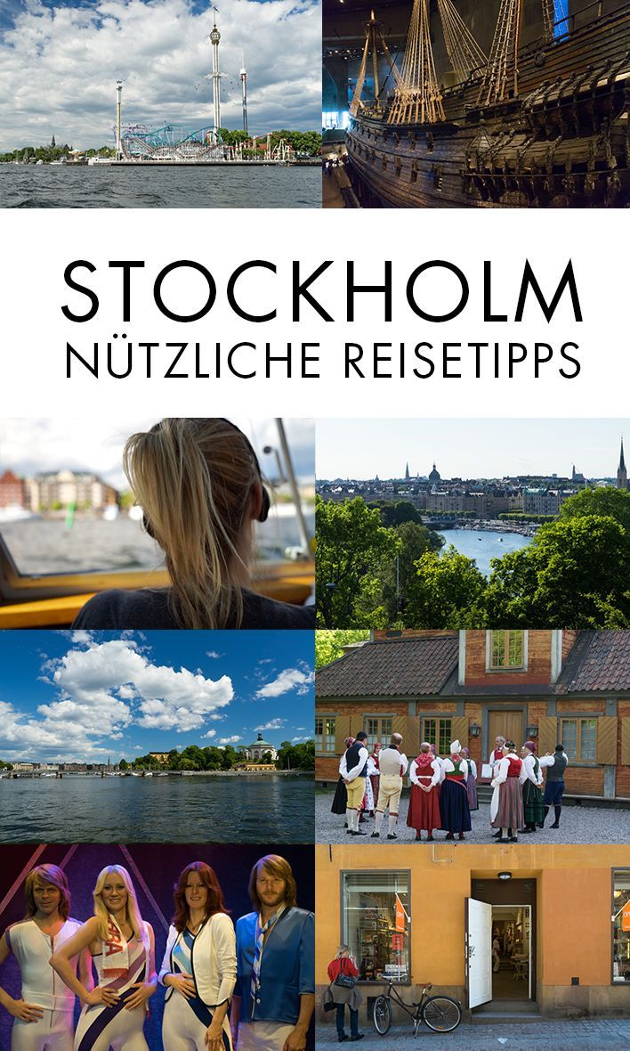 Stockholm Tipps: Die besten Sehenswürdigkeiten und Infos