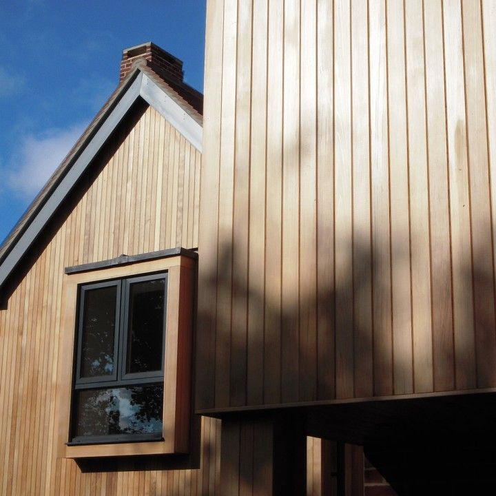 Western Red Cedar Tongue & Groove Cladding