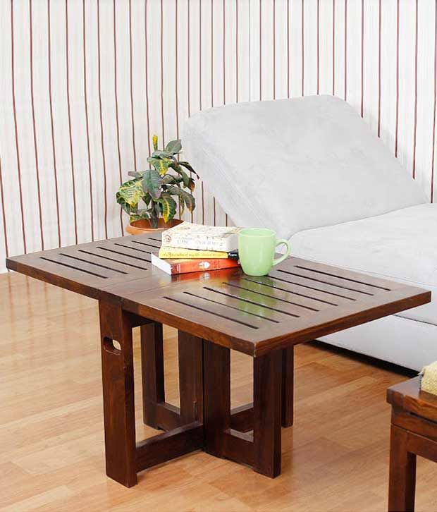 Great FabFurnish Elmwood Folding Coffee Table,General Tables, Rs. 8,564.00 Best  Seller Snapdeal | My Choice Furniture | | Innovative Furniture Design ... Gallery