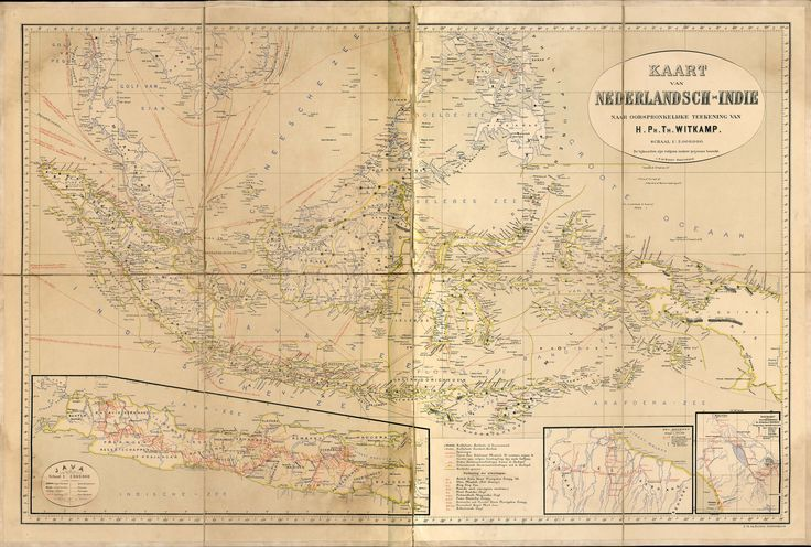 Dutch East Indies, 1893 #map #indonesia