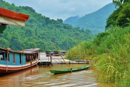Río Mekong en Laos