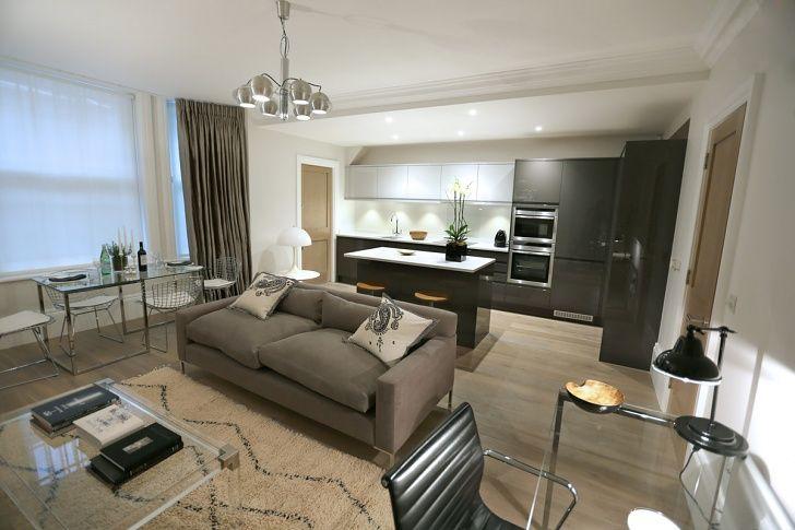 56 Welbeck Street | One Bedroom Apartment Living Room