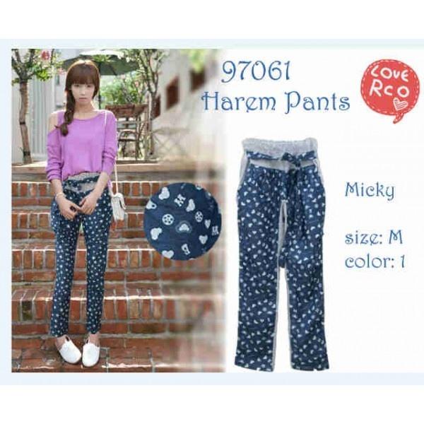 Harem Pants Mickey