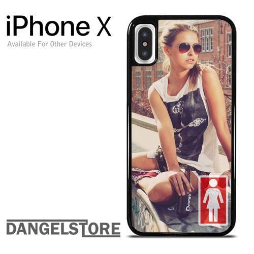 Girl Skateboard Girl For iPhone X