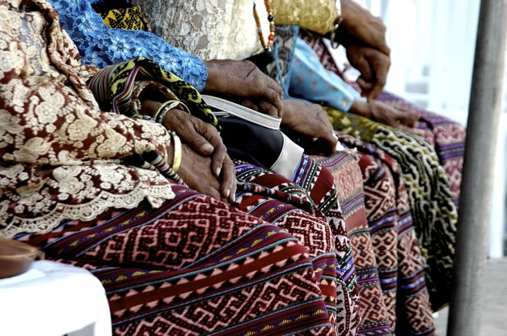 Textiles unique to each individual, Baun, West Timor.