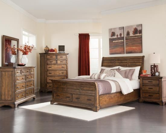 California King 4 Pcs Bedroom Set 57622 For $1432 Coaster