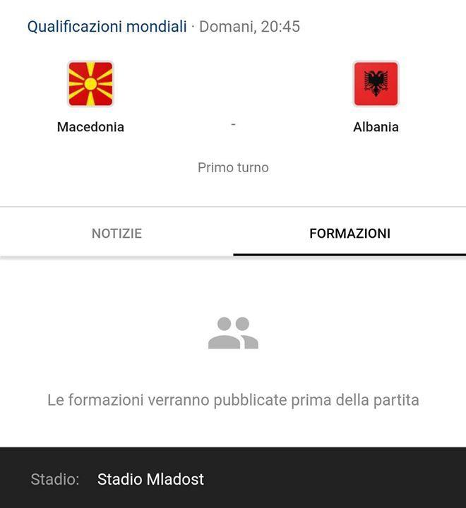 Quali sono i vostri pronostici per la partita di domani #Macedonia - #Albania - http://ift.tt/1HQJd81