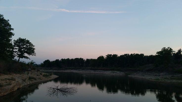 Arbuckle Lake, Oklahoma.  2015