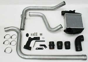 Turbo Diesel Dual Intercooler Kit Converts you TDI or PD Diesel to a dual intercooler. Is applicable for 1.9L TDI and Pumpe Dusse engines.