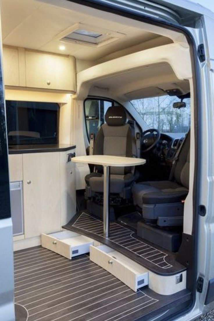 Pin By Oleg On Camper Van Van Storage Sprinter Camper Camper