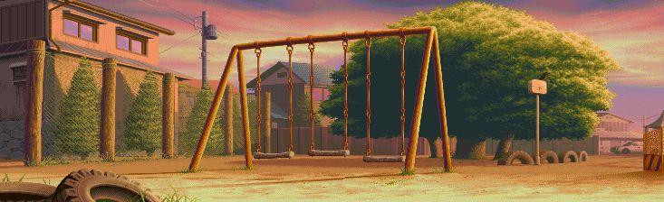 Street Fighter Alpha 3, Dan stage.