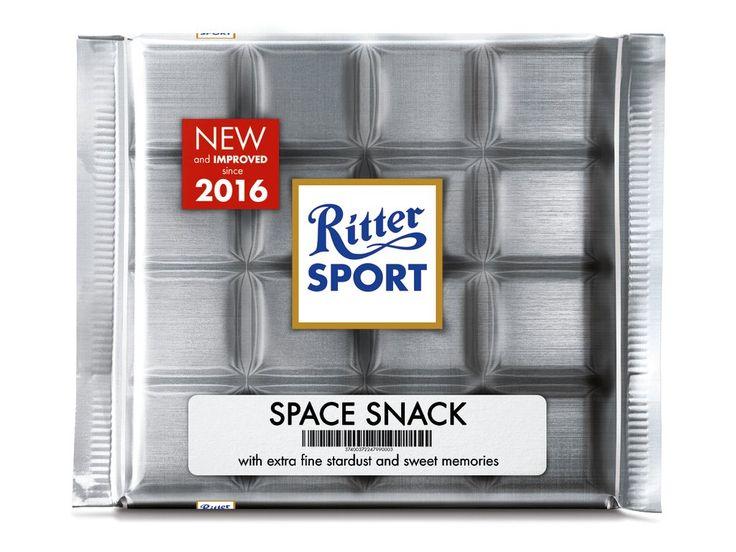 RITTER SPORT Fake-Sorte zur Wiederkehr des Astronauten Scott Kelly #OneYearInSpace