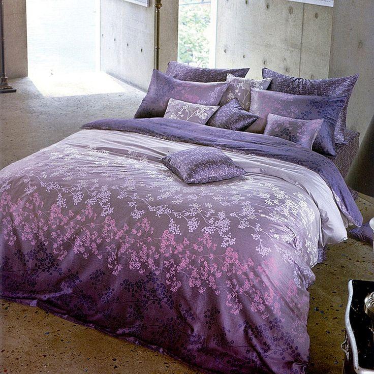 quality sateen gradient purple u0026 lavender floral by bhdecor purple duvet covers