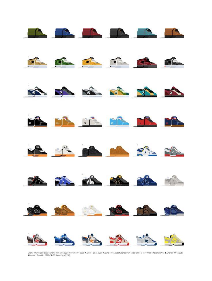 Skate-shoes-of-the-90s-framed-print