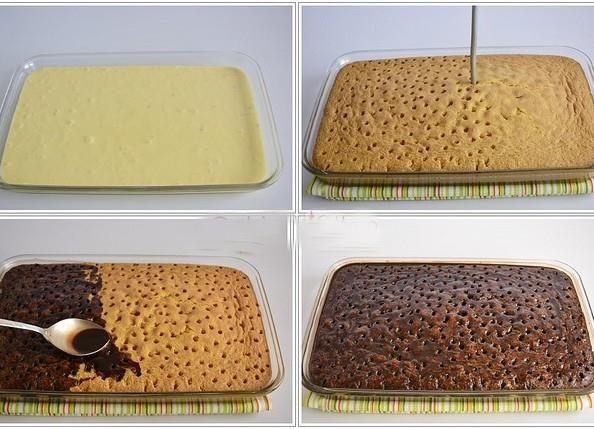 Şişleme Pasta Dürtme Kek Nasıl Yapılır
