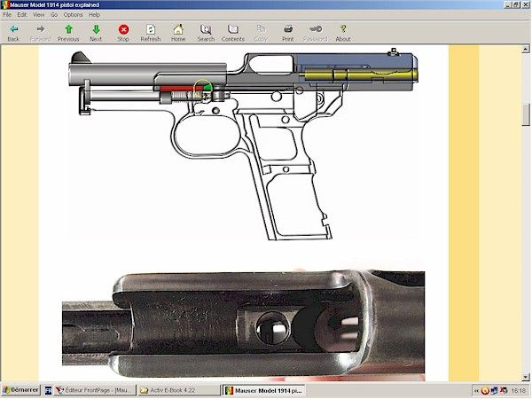 Mauser pistol model 1910 1914 1934 - Downloadable at HLebooks.com