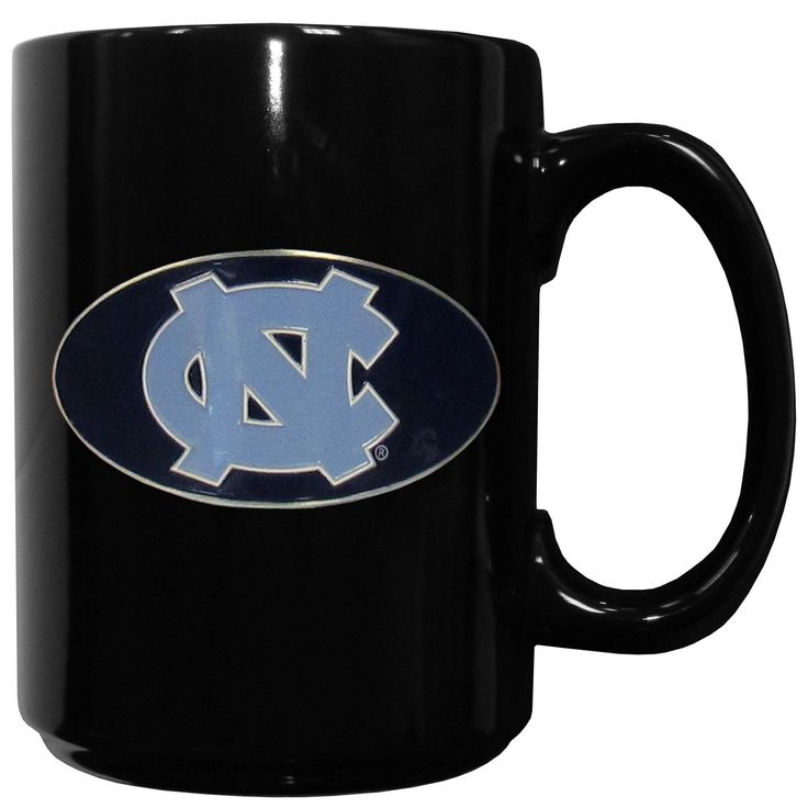 """Checkout our #LicensedGear products FREE SHIPPING + 10% OFF Coupon Code """"Official"""" N. Carolina Tar Heels Ceramic Coffee Mug - Officially licensed College product 14 ounce capacity Ceramic coffee mug Great gift for a true fan Metal N. Carolina Tar Heels with enameled detail - Price: $29.00. Buy now at https://officiallylicensedgear.com/n-carolina-tar-heels-ceramic-coffee-mug-cmg9"""
