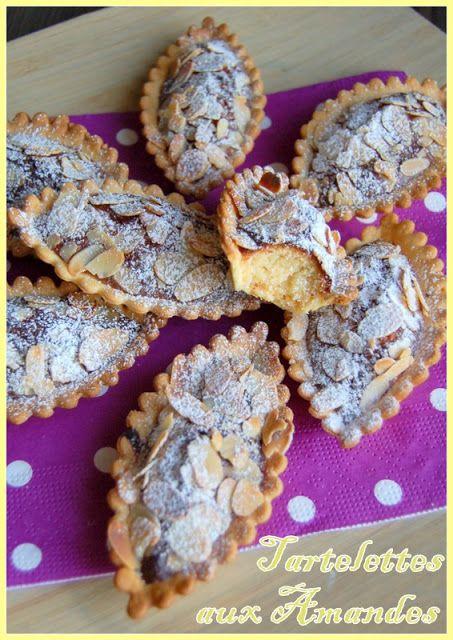 Juste histoire de goûter: Tartelettes aux Amandes