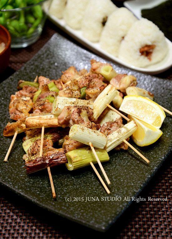 塩鶏ねぎまやセロリの浅漬けなど JUNAオフィシャルブログ「Quality of ... 「オーブンで塩鶏ねぎま」