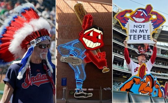 """Racist Cleveland Indians mascot """"Chief Wahoo"""""""