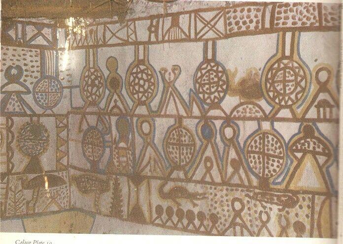 Interior Decoration Wadi Halfa Northern Sudan Nubia Regon Egypt