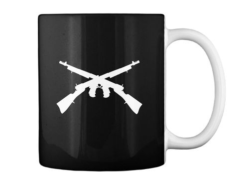 I've Served My Country Coffee Mug Black Mug Back