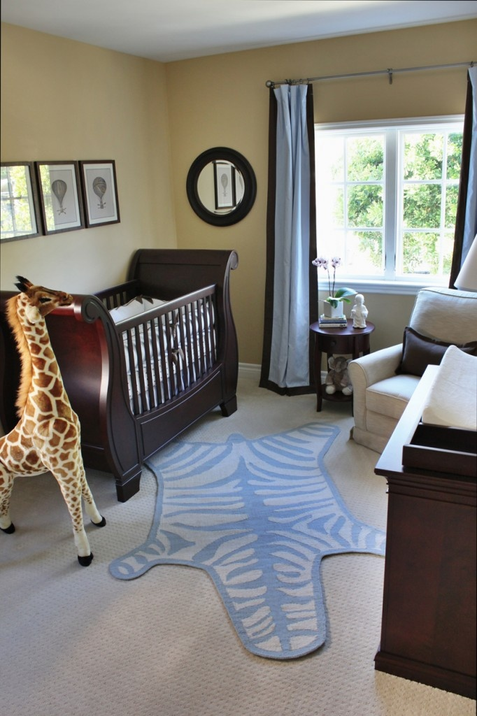 Best Brown Blue Tan Nursery Idea Images On Pinterest