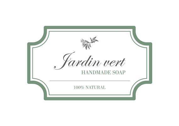 Soap Logo, Premade Logo, Logo Design, Beauty Logo, Organic Soap Logo, Boutique Logo, Nature Logo, Botanical Logo, Vintage Logo