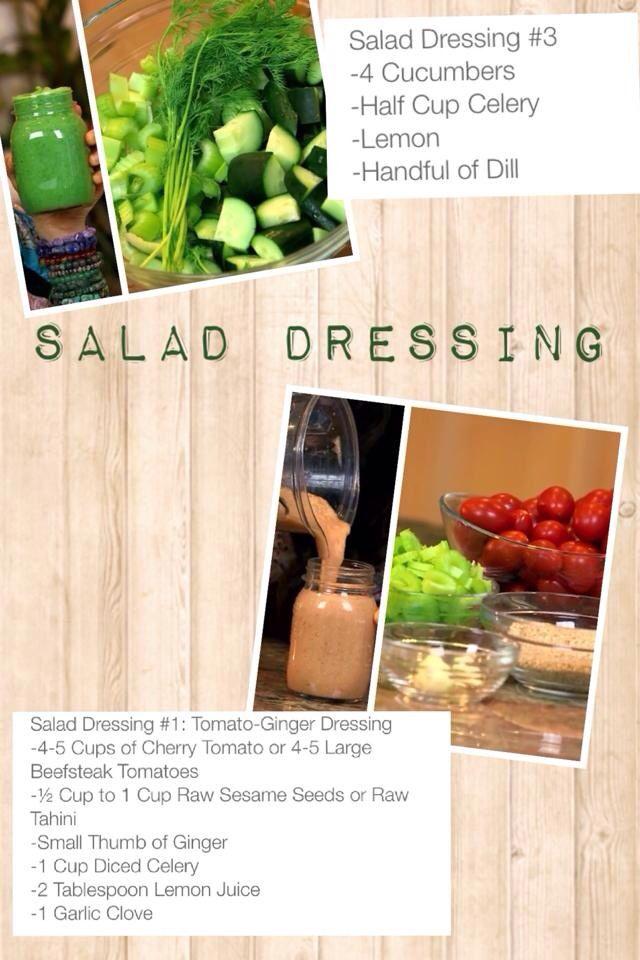 Fully Raw Kristina Allergy Free salad dressings