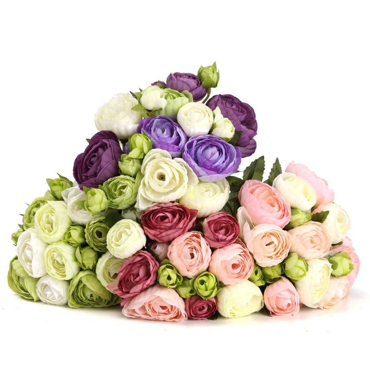 Wallmart.win 10 Heads Artificial Silk Flower Camellia Wedding Bouquet Party Home Decoration: Vendor: BG-US-Clothing-and-Apparel Type:…