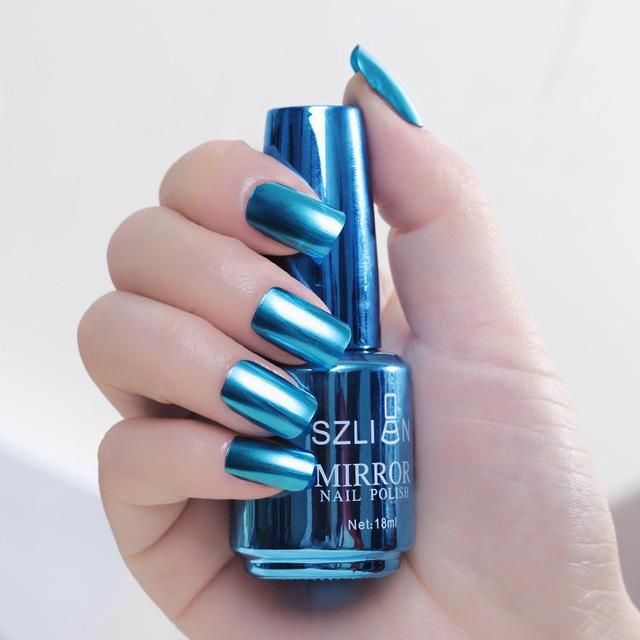 Metallic Nagellack Zauberspiegeleffekt (18ml) – Nail Art Designs Winter