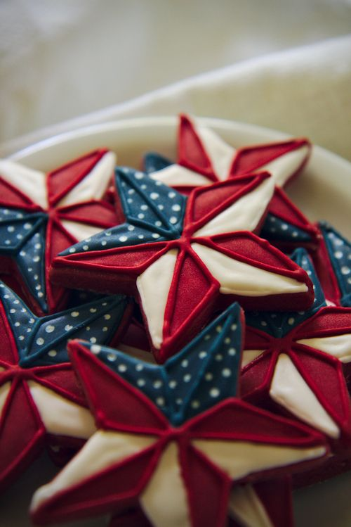 4th of july pinwheel-flag cookies (red velvet roll out cookie base) recipe