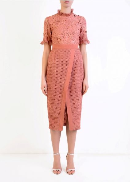 True Decadence Collar dress - Harvey Nichols
