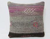 floor pillow 18x18 floor cushion cover indigo pillow cover ethnic throw pillow geometric cushion crochet pillow case sham 23687 kilim pillow