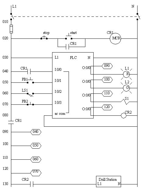 schematic wiring diagram symbols pioneer deh 1800 plc data schema electrical on counters in ladder diagrams basic