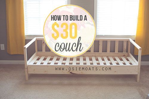DIY Couch                                                                                                                                                     More