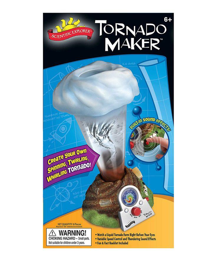 This Tornado Maker Kit by Scientific Explorer is perfect! #zulilyfinds