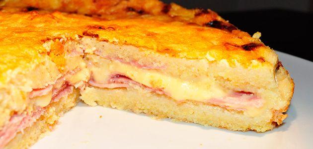 Fácil de hacer, se prepara en la licuadora. Un buen jamón y un queso sabroso será todo lo demás.